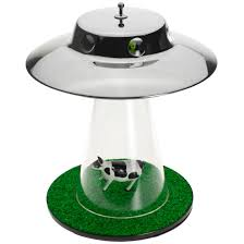 Alien Abduction Lamp Getdigital