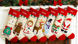 Handmade Christmas Stockings Easy Handmade Christmas Stockings Youtube