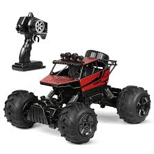 INTEY RC Cars Amphibious Remote Control Car 1:12 4WD Off Road Trucks Comes with Batteries Included and USB Charger us