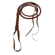 6 foot real tan brown quality leather riding bull whip 6ft cow stock livestock com