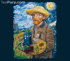 van gogh who t shirt doctor