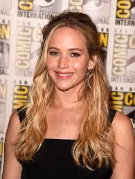 Jennifer Lawrence New Hair Style jennifer lawrence has a bright new hair color twist 6488 by stevesalt.us