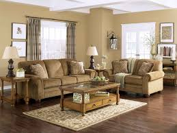 Furniture Cream Sofa Color And Light Wooden Coffee Table Color In