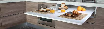 pull out drawer front tables with top