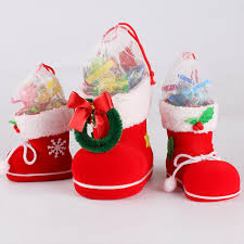 cheap christmas decor: wonderful christmas decorations children gifts candy boots gift box santa claus s lchina mainland
