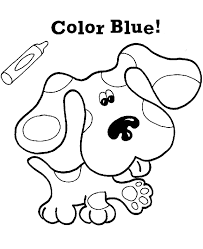 Small Picture Beautiful Blues Clues Magenta Coloring Pages Ideas Coloring Page