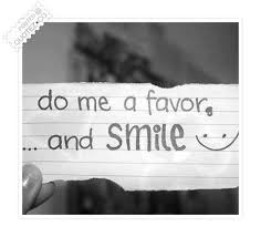 Funny Smile Quotes Enchanting Do Me A Favor And Smile Funny Quote QUOTEZ○CO
