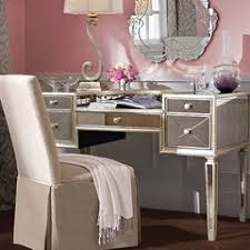 borghese mirrored furniture. Borghese Mirrored Desk, Bassett Mirror Company, Collection Furniture B