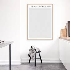 book text wall art