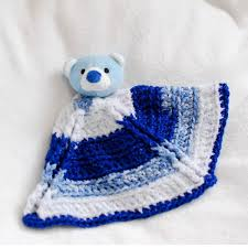 Free Crochet Lovey Pattern Simple 48 Lovey Crochet Blanket Patterns For Baby AllFreeCrochet