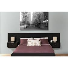 Prepac Series Piece Black Queen Bedroom Set Bhhq The