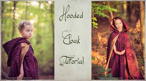 Childs Cape Pattern Impressive DIY Hooded Cloak Tutorial How To Sew A Lined Hooded Cape YouTube