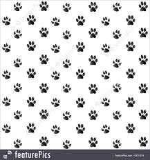 Paw Print Pattern Simple Decorating Ideas