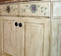 faux painting ideas for kitchen walls. faux painting kitchen cabine finish - glazing and hand painted designs ideas for walls r