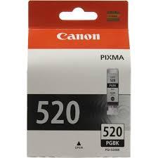 Оригинальный <b>картридж Canon PGI-520BK</b> (с черными ...