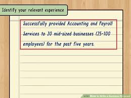 Professional Business Proposals How To Write A Business Proposal With Pictures Wikihow