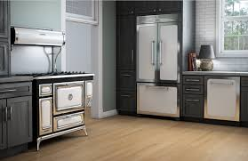 French Door french door range photographs : Airy sage green walls and white appliances soften the bold ...