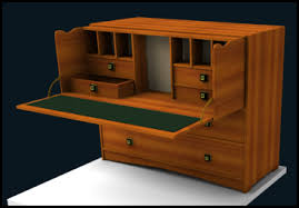 pull out desk