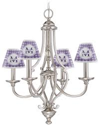 gingham print small lamp chandelier shade