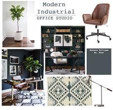 office studio design. Studio Office Design: Modern Industrial Design