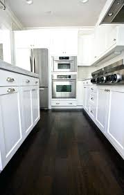 white kitchen dark wood floor. Dark Wood Floors Amazing Care Of Hardwood In Kitchen Best Ideas On White Floor
