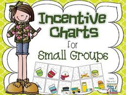 Child Incentive Chart Small Group Incentive Charts