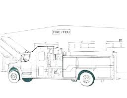 Free Printable Fire Truck Coloring Pages Book Trucks Duelprotocolinfo