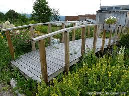 Small Picture Arch Pond Bridge Design Build Wood Garden Bridge Entrances