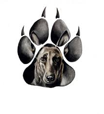 You can either opt for a tribal bear claw tattoo design or a bear head tattoo or. Calm Dog Face In Paw Trace Tattoo Design Tattooimages Biz