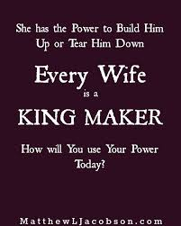 Powerful Love Quotes Best Love Quotes Wives Are POWERFUL In The Lives Of Their Husbands 20