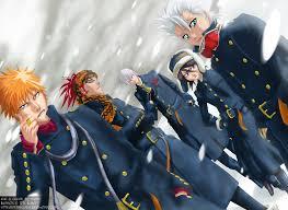 bleach winter bleach anime