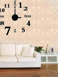 Small Picture Wall Clock Large Wall Clock Decorating Ideas Wall Decor Clock