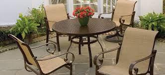 aluminum sling pool and patio furniture