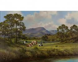 Wendy Reeves art - Rain, Original Oil Painting
