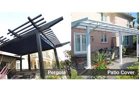 Patio Cover Design Ideas Pergolas Or Patio Covers How To Choose The Right Shade Solution