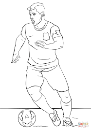 Small Picture Sergio Agero coloring page Free Printable Coloring Pages