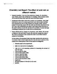 acid rain lab report international baccalaureate chemistry  page 1 zoom in