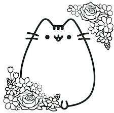 Printable Pusheen Coloring Pages For Kids Super Coloring Page