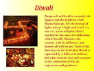 Diwali in english essay