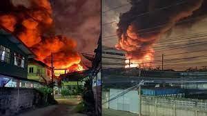 ระทึกกลางดึก! ไฟไหม้โรงงาน สมุทรปราการ กลุ่มควันท่วม จนท.เร่งตรวจสอบ -  ข่าวสด