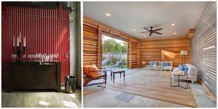 corrugated metal in interior design creative ideas for home decors