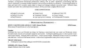 Childcare Resume Great Childcare Resume Images Child Care Resume Samples Child 41