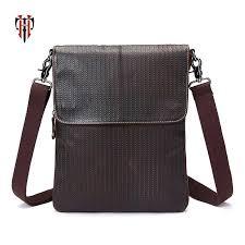 <b>TIANHOO</b> small shoulder bags men genuine leather corss body ...