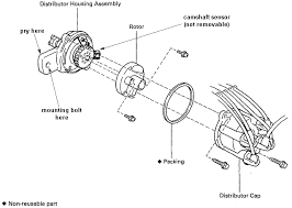 1996 toyota camry my camshaft position sensor located diagram it just takes a little force to remove it you can use a small pry tool between the mounting bolt location and the engine block see image below