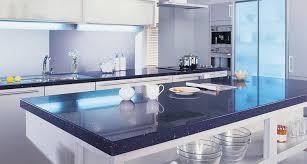black white kitchen countertops