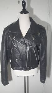 womens medium genuine leather motorcycle jacket