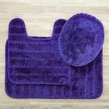 mohawk home bath rugs home veranda 3 piece bath rug set in midnight mohawk home memory