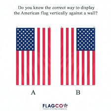 proper way to hang a flag vertically proper way to hang a flag vertically proper display