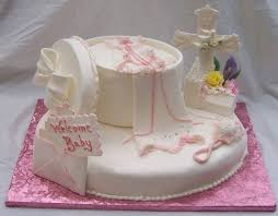 Baby Girl Christening Or Baptism Or Other Religious Ceremony Cake