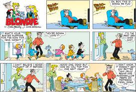Blondie daily comic strip